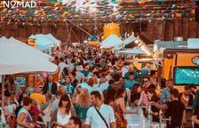 Decoració, gastronomia i música a Salou amb el Nomad Festival