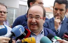 Iceta avalaria la intervenció dels Mossos si Puigdemont confirma que va declarar la independència