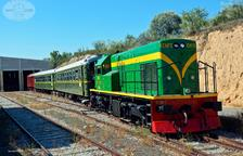 El tren turístic 'Lo Caspolino' es posarà en marxa l'estiu del 2019