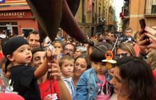 Més de 200 petits tarragonins entreguen els xumets a la Víbria