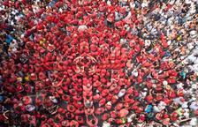 Les colles castelleres tarragonines donen suport a les institucions catalanes