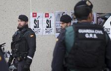 Interior desplaça reforços policials a Catalunya per «mantenir l'ordre» i actuar per l'1-O