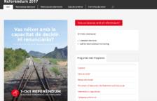 Fan anunciar a Mariano Rajoy el referèndum de l'1 d'octubre