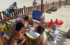 Més de 2.000 infants han gaudit aquest estiu del Club Infantil de la platja de la Pineda