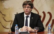 Puigdemont creu que la DUI estarà sobre la taula si l'Estat impedeix l'1-O