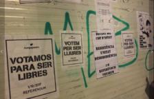 Reus convoca una nova enganxada de cartells a favor del referèndum