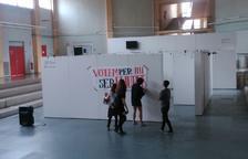 Concentració a Sescelades a favor de la democràcia i el referèndum