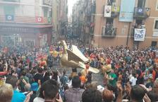 El Seguici Popular, en marxa pel centre de Tarragona