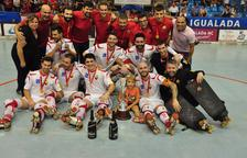 El Reus Deportiu s'imposa al Noia (3-5) i guanya la segona Lliga Catalana seguida