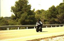 El dispositiu del GP d'Aragó enxampa un motorista que circulava a més de 220 km/h a Caseres