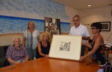 L'Arxiu Municipal de Torredembarra rep una nova donació d'un gravat de Jaume Pla