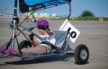 Una vila-secana de 12 anys, la més jove del Campionat Europeu de Blokart