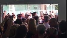 Els Mossos informen de l'arribada de la Policia Nacional a l'institut Jaume I de Salou