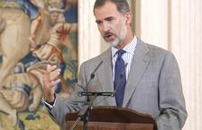 Òmnium llama a recibir a Felipe VI este domingo con una «gran cacerolada»