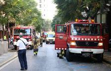 Un incendio en un camión de electrodomésticos obliga a cortar la C-221