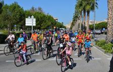 Més de 400 participants a la Diada de la Bicicleta de Vila-seca
