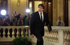 Un moviment intern del PDeCAT demana a Puigdemont que aixequi la suspensió de la declaració d'independència
