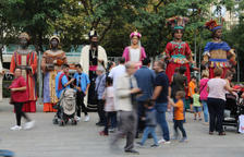 La Vitxeta estrena vestit al congrés internacional Món Gegant