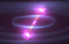 Detecten per primera vegada ones gravitacionals després de la fusió de dues estrelles