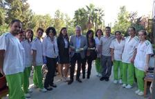 Els avis de la residència del STS Grup de Salou celebren un dinar de germanor