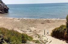 Dilluns comencen les obres de millora de Cala Crancs a Cap Salou