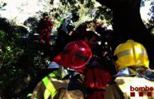 Un ciclista resulta ferit greu a Querol