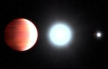 Troben un exoplaneta on hi «neva protector solar»