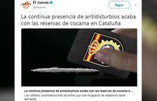 El director de 'El Jueves', citat al jutjat per injúries a la policia espanyola