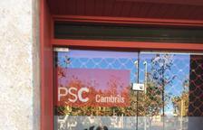 El PSC condena los ataques a las sedes socialistas de Valls y Cambrils