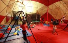 Los juegos populares, protagonistas del Parque de Navidad de Valls