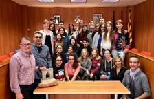 L'Ajuntament de Roda dóna la benvinguda als estudiants alemanys d'intercanvi