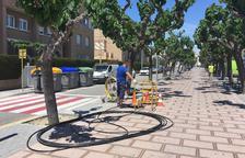 Mil habitatges de Calafell ja tenen fibra òptica i fins a 3.000 en tindran abans d'acabar l'any