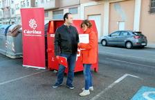 Càritas Diocesana instal·la nous contenidors de recollida de roba usada a Tortosa