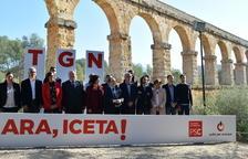 Iceta y Espadaler lideran la presentación de la lista socialista tarraconense para el 21D