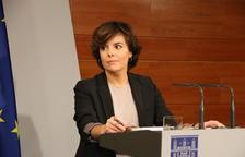 Sáenz de Santamaría considera que Roger Torrent va tenir una actitud masclista amb ella