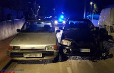 Detingut per provocar un accident mentre anava begut i drogat a Cunit