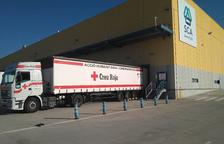 La compañía Essity da un millón de pañales a la Cruz Roja