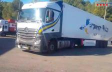 Detenen un camioner que superava en més de 10 vegades la taxa d'alcoholèmia permesa