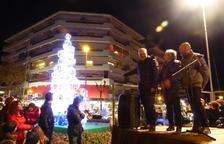 Salou rep el Nadal amb l'encesa de llums i una cantada de Nadales