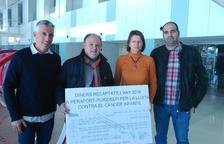 Perafort i Puigdelfí recullen prop de 4.000 euros per a la investigació contra el càncer infantil