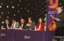 Societat Civil Catalana uneix PP, Cs i PSC en un acte a Bonavista a favor de la Constitució