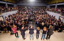 Romeva en Valls: «Junqueras está injustamente encarcelado porque tienen miedo»