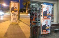 Cs denuncia que a Torredembarra els han falsificat cartells per penjar-los a indrets prohibits