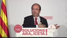 Iceta proposa l'indult pels polítics sobiranistes que fossin condemnats, però el PSOE se'n desmarca