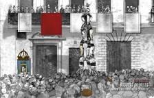 Les Festes de la Candela de Valls de 1791, primera actuació castellera de la història