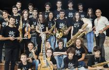 La Big Band més jove d'Europa actua a Vila-seca