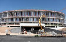 Llum verda al finançament per completar la 4a fase del Palau d'Esports de Tarragona