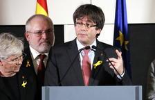 Puigdemont referma a través de Twitter que participarà avui en un debat a la Universitat a Copenhaguen