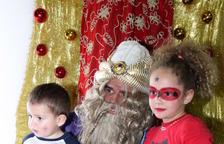 El Patge Reial visita el Parc Nadalenc a Roda de Berà