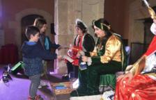 Els patges reials recullen les cartes dels infants de Torredembarra